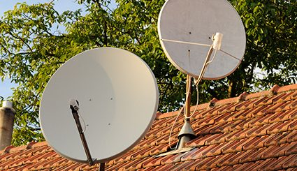 Cable satelital vs. Televisión por cable