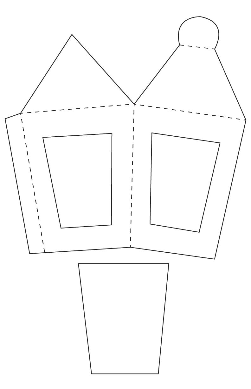 TODO CON PAPEL : Faroles de cartón