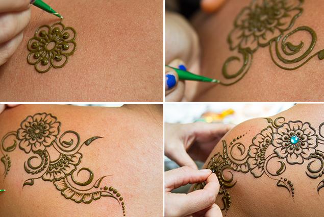 Tatuajes Mehndi Hombro : Tatuajes temporales de henna hola es lola
