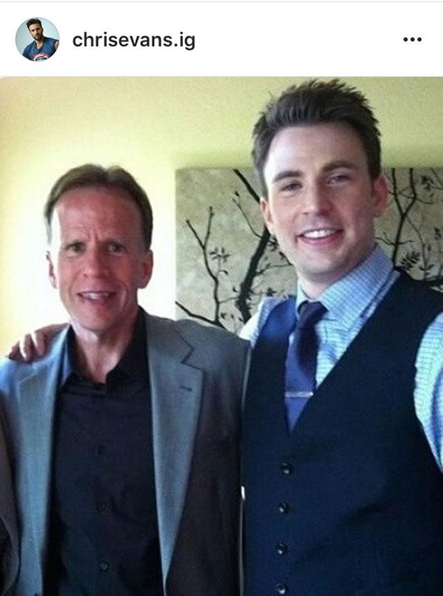 Chris Evans Dad