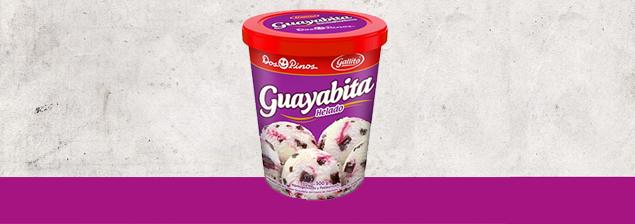 ¡A la venta el helado de Guayabita!