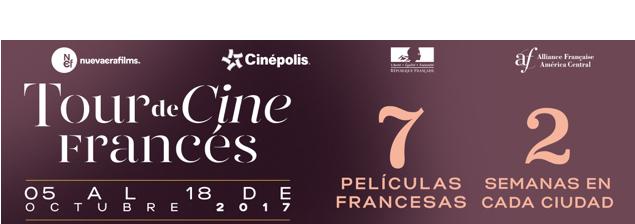 ¡Se viene el Tour de Cine Francés 2017!