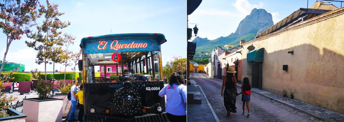 Pasear por la virreinal Querétaro.
