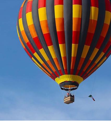 ¡Cumplir el sueño de volar en globo!