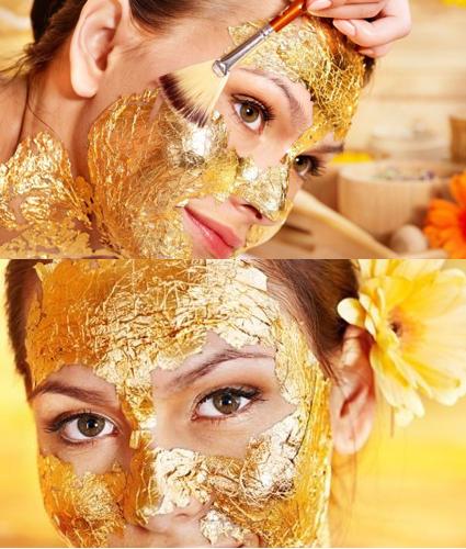 ¿Conocés la mascarilla facial de oro?