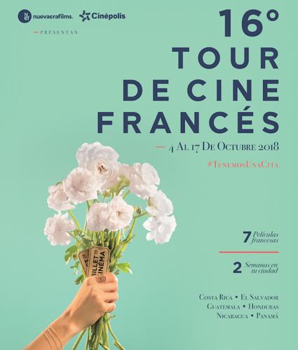 ¡Se nos viene el Tour de Cine Francés!