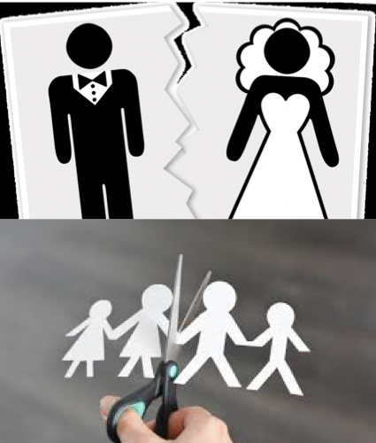 El divorcio, paso a paso.