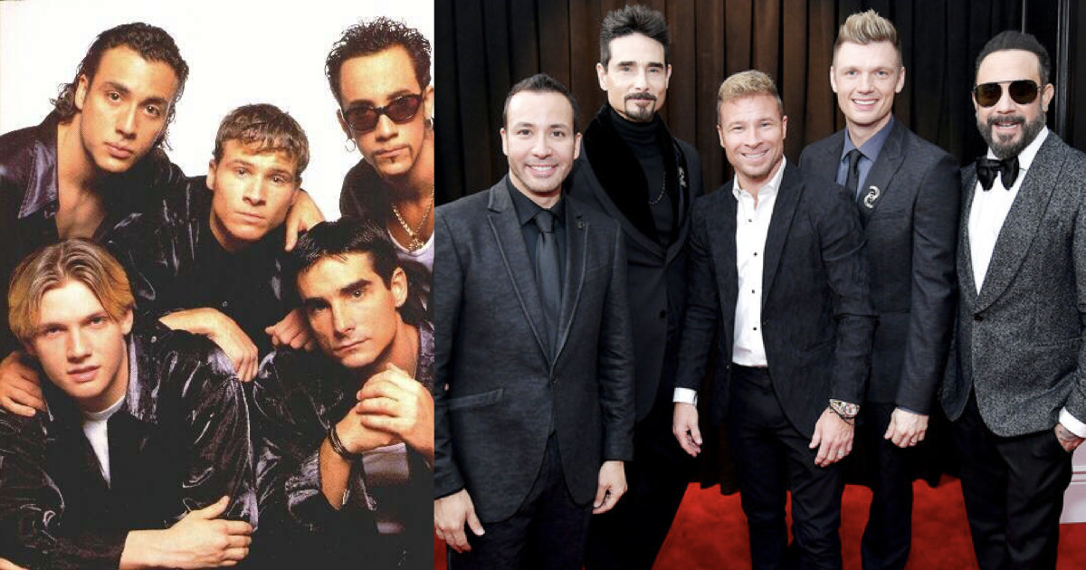 Así están los Backstreet Boys