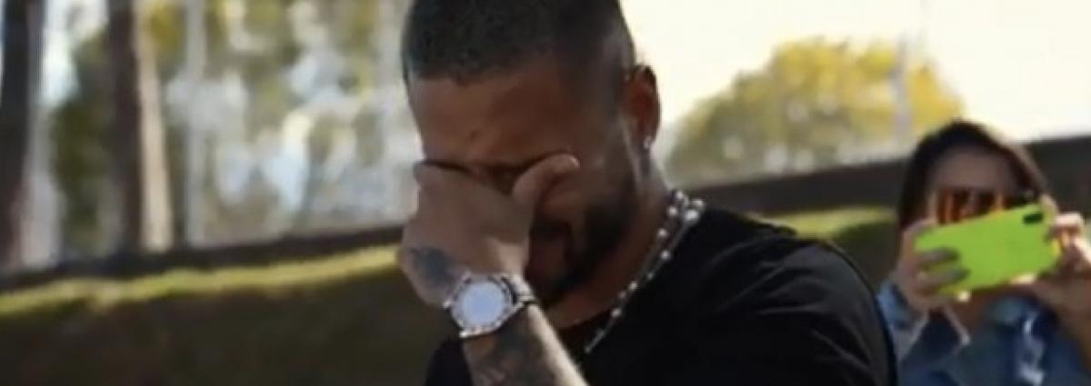El llanto de Maluma