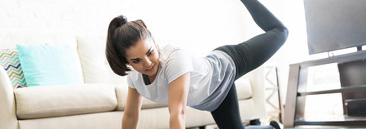 Rutina de ejercicios para realizar en casa y tonificar los glúteos
