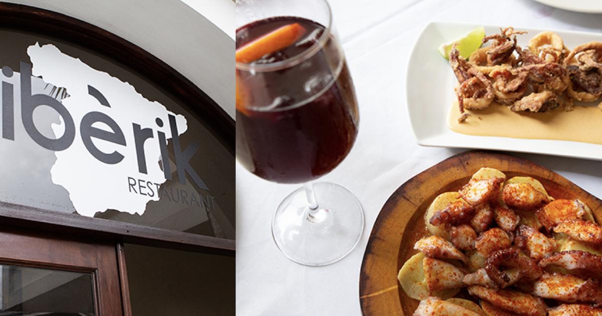 ¡El placer de comer como españoles en IBERIK!
