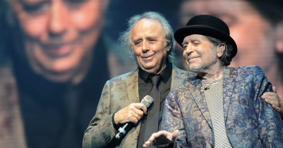 Serrat y Sabina cerrarán el 2019 con un concierto para no olvidar