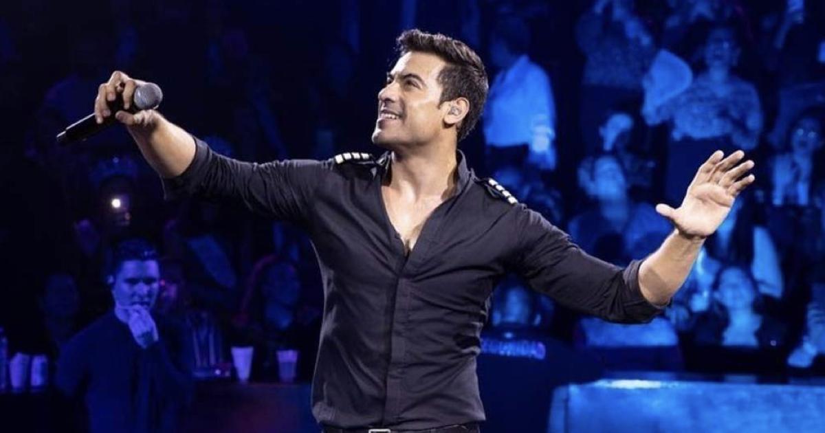 ¿Con entradas para el concierto de Carlos Rivera?